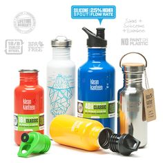 Made from high quality, 18/8 food-grade stainless steel, the Classic Klean Kanteen is safe and toxin-free, and doesn't retain or impart flavors. No matter how many times it is filled, or what is put into it, these Kanteens keep drinks fresh and clean tasting.