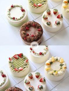 Cake Filling Recipes, Best Cake Recipes, Dessert Recipes, Modern Birthday Cakes, Pretty Birthday Cakes, Fruit Cake Design, Cake Decorating Piping, Cake Packaging, Basic Cake