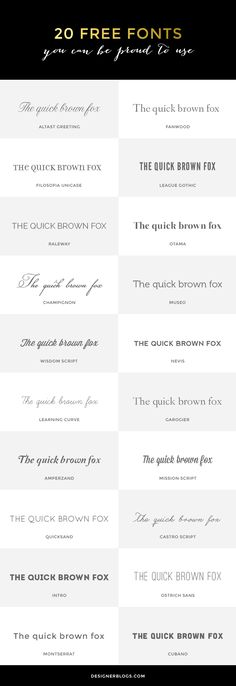 Why Gorgeous, Trendy Script Fonts May Not Be Right For