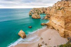 Praia da Marinha – Lagoa, Algarve Algarve, Portugal, Water, Outdoor, Water Pond, Hale Navy, The Beach, Gripe Water, Outdoors