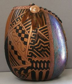 painted gourds ideas | Maria's Art Creations – Gourd Art Supplies + Gourd Jewelry: Gallery