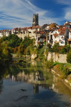Fribourg, Switzerland.  Enjoyed this charming town summer of 2013!