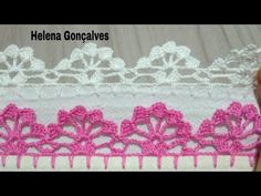 Crochet Bib, Crochet Doilies, Crochet Lace, Crochet Necklace, Crochet Edging Patterns, Crochet Borders, Doily Patterns, Goncalves, Crochet Decoration