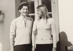 """Leonard Cohen and Marianne Ihlen  from """"I'm Your Man: The Life of Leonard Cohen"""" by Sylvie Simmons"""