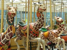 5 - Charles Looff Carousel by caitlinburke, via Flickr