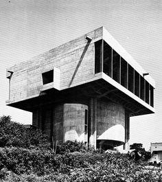 Shri Ram Centre for Art and Culture | 1969 | New Delhi, India | Shiv Nath Prasad