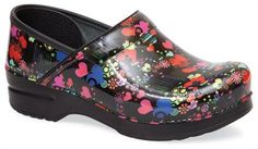 Nursing Shoes - Dansko Heart Patent Professional Clog