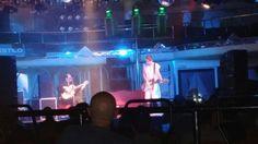 #AlbertPlá en directo en #Oviedo #SalaStylo con el #guitarrista #DiegoCortés