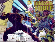 Fantastic Force # 1 by Dante Bastianoni
