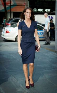 Princess Marie of Denmark in New York