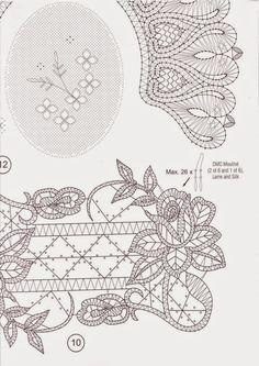 """Кружева на коклюшках: Журнал """"Lace Souvenirs Lace Express Special"""" 2009"""