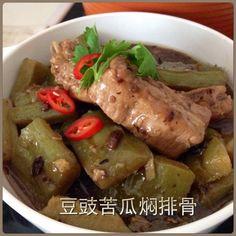 Singapore Home Cooks: Bitter Gourd Pork Rib Stew by Goh NgaiLeng