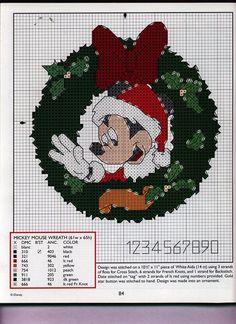 Schema punto croce Mickey-mouse-mano