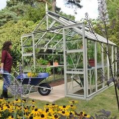 All serious gardeners need quality greenhouses to grow plants all year round in a protective environment. This greenhouse is from Harrod Horticultural and offers a practical and stylish addition to gardens.