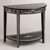 This table has great detail and would be perfect for this home's entryway.