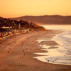 Del Mar Beach    |