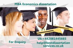 mba dissertation reports