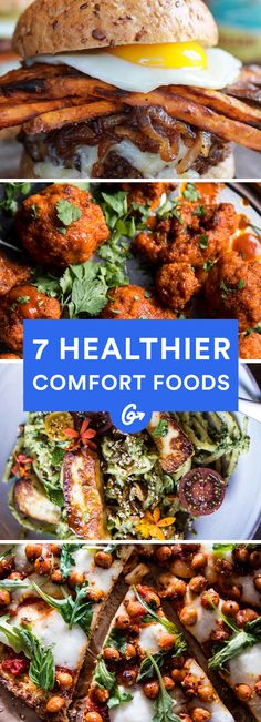 Skip the Sunday night delivery and whip these up… Healthy Comfort Food, Healthy Snacks, Healthy Eating, Healthy Recipes, World Recipes, Gourmet Recipes, Cooking Recipes, Healthy Pancakes Oatmeal, Crockpot