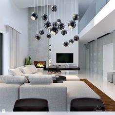 HomeKoncept 28 to wyjątkowy dom, którego uwagę przyciąga niezwykle ciekawy taras, elegancka elewacja wykonana z płyt betonowych połączonych z szlachetnym drewnem oraz białe belkowa ...