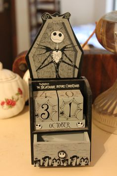 Jack Skellington Nightmare Before Christmas w