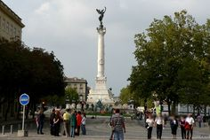 Bordeaux : statue des Girondins