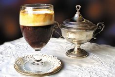 Recipes for Bicerin (espresso/chocolate/cream) http://www.aldocoffee.com/2006/02/making_bicerin_.html
