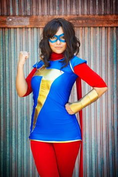 Ms. Marvel (Kamala Khan) #cosplay | Marvel Entertainment