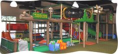 indoor playground for Hailey during summer
