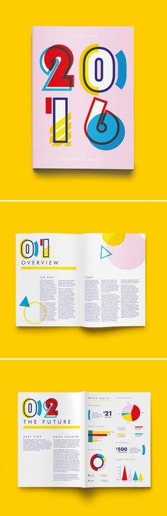 Design print layout annual reports 23 new ideas Layout Design, Font Design, Web Design, Print Layout, Typography Design, Lettering, Creative Design, Brochure Indesign, Template Brochure