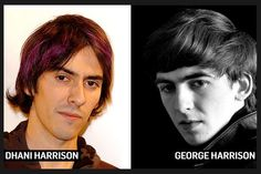 Dhani Harrison Spitting Image Of His Father