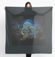 Scarf Ghost in the Night