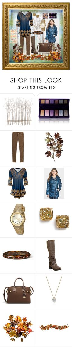 """All Things Autumn"" by aurorasblueheaven ❤ liked on Polyvore featuring Fox, By Terry, Mother, C. Jeré, Simply Aster, Halogen, Kate Spade, Miz Mooz, Henri Bendel and Improvements"