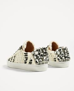 FABRIC PLIMSOLLS-View all-SHOES-WOMAN | ZARA United States