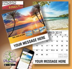 2021 Beaches and Coastlines Wall Calendars low as Promote your Business, Organization or Event all year with Promotional Calendars! Wall Calendars, Surfing, Hands, Messages, App, Marketing, Logo, Business, Free