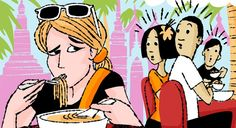 15 International Food Etiquette Rules That Might Surprise You  You used the fork in front of you and suddenly everyone is staring… why? Table manners are as unique to a culture as the food before you—though not always as easy to navigate. Here, 15 etiquette rules you should know before you travel.