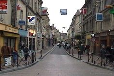 Bayeux, France.  It is a quaint little town in Normandy.  Tres Belle.