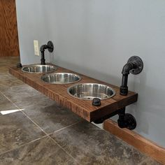Items similar to Reclaimed Barn Wood Sofa Bar Table - - Restaurant Counter Community Cafe Coffee Conference Office Meeting Pub High Top on Etsy Barn Wood Bathroom, Bathroom Wood Shelves, Raised Dog Feeder, Raised Dog Bowls, Sofa Bar, Wood Dog, Pub Set, Dog Rooms, Reclaimed Barn Wood
