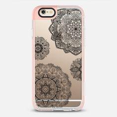 Black Mandala Lace Dream - New Standard Pastel Case