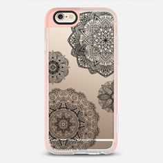 Black Mandala Lace Dream - New Standard Pastel Case