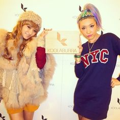 RT @mayu: #KOOLABURRA #Launchparty w/ GAL lol @yuri0718 at #anotheredition 原宿本店 #mayuri #一応左は森ガール @ Another… http://flip.it/TGWaj