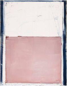 Pius Fox, untitled. Pius Fox is een kunstenaar uit Berlijn. Hij schildert voornamelijk de stad op een kubistische wijze, vaak vervreemdend en beklemmend met veel gevoel, ondanks de kubistische voorstellingen. Dit werk is louter abstract, maar spreekt mij aan vanwege het kleurgebruik en de donkere omlijsting naast de zachte pastelkleuren.