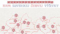 Mapa Slovenskej Ľudovej Výšivky