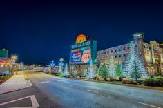 Just one turn off the Parkway in Pigeon Forge - The Island in Pigeon Forge