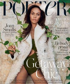 Joan Smalls Covers Porter Magazine Summer 2015 | Photographer Ryan McGinley