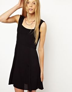 Image 1 of Monki Skater Dress Dress Outfits, Cute Outfits, Dresses, Frack, Monki, Skater Dress, Style Me, Asos, Pretty
