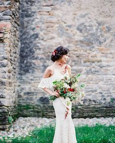Make sure to check out @madalinasheldonphotography's latest project: an artisanal and raw wedding inspiration in the heart of Transylvania <3 Thank you for featuring our #AW15 Thea maxi dress in cream, we're thrilled to see the final result of your beautiful work!