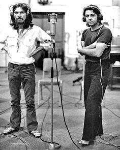 George Harrison & Paul McCartney