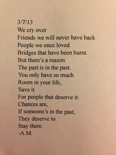 Save your heart for people that deserve to be there