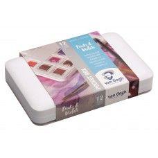 Van Gogh Aquarelverf Pocketbox 12 Napjes Pinks Violets V Roce 2020