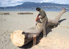 Produção de peças para a Bienal de Vancouver. | Production of pieces for the Vancouver Biennale.